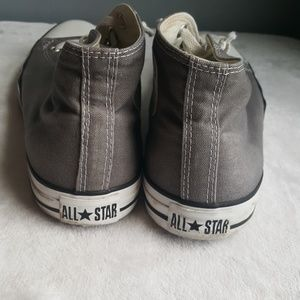 Converse Shoes - Converse All Star Gray Chucks Converse Sneakers
